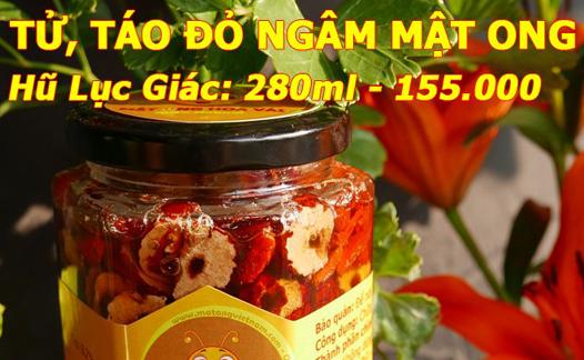 Kỷ tử táo đỏ ngâm mật ong
