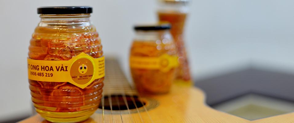 Chanh đào ngâm mật ong 700ml