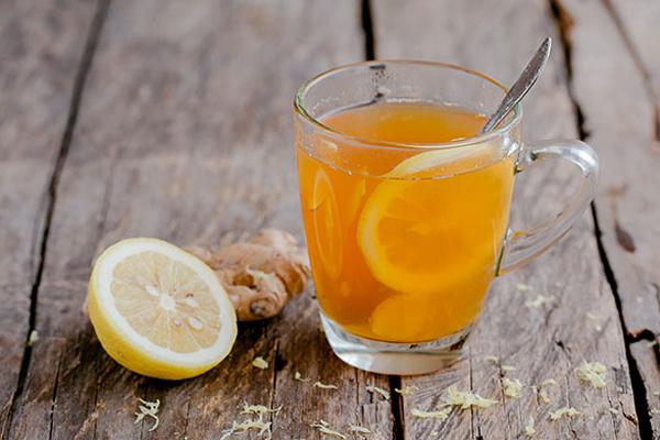 Chào buổi sáng bằng tách trà gừng mật ong