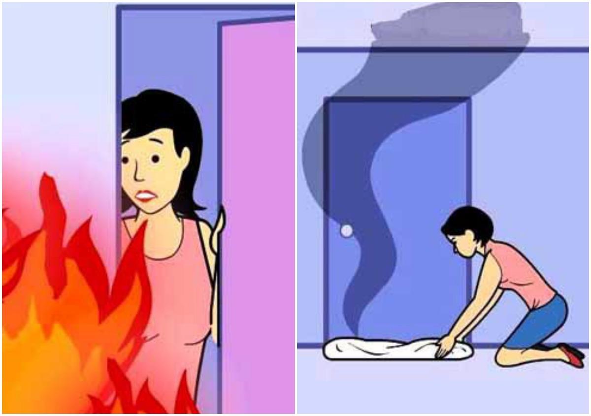 Cách thoát khỏi nhà cao tầng đang cháy