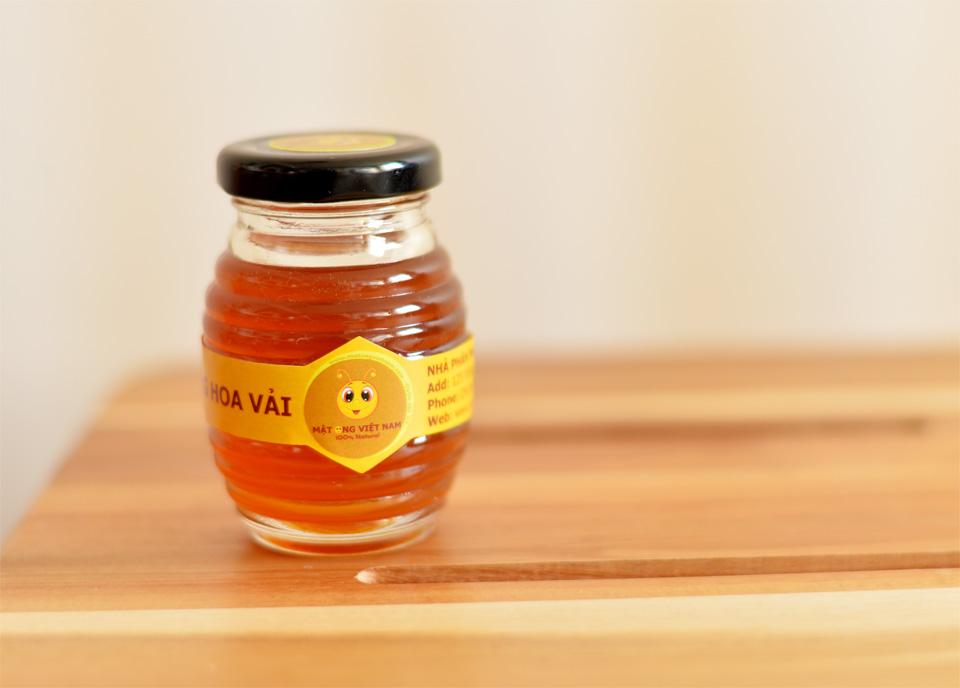 Mật ong hoa vải 100ml