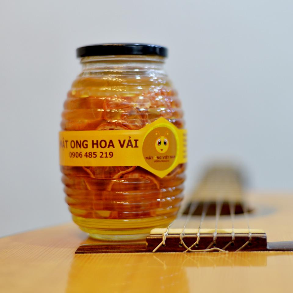 Chanh đào ngâm mật ong hũ 700ml