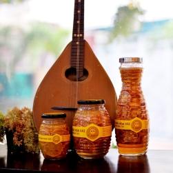 Chanh đào ngâm mật ong bộ 3 hũ (1000ml, 750ml, 350ml)